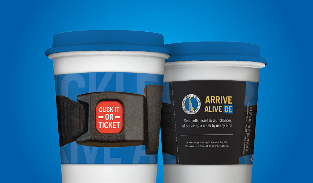 Buckle Up. Arrive Alive De.